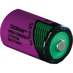 Lithium battery, 1/2 AA, 1100 mAh, pack of one TADIRAN 1110750100