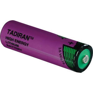 AA lithium battery, 2400 mAh, pack of one TADIRAN 1110360100
