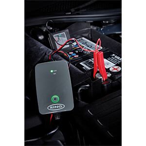 Automatische acculader 6 V, 12 V, SmartCharge, 1 A RING AUTOMOTIVE