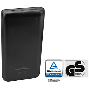 Powerbank, Li-Po, 20000 mAh, QC, USB-C ANSMANN 1700-0097