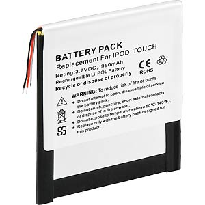 800 mAh, Li-Pol, for iPod Touch FREI