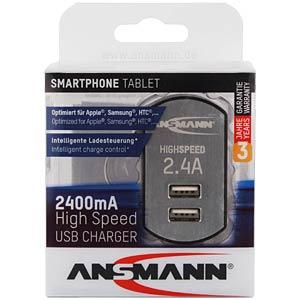 USB-Ladegerät, 5 V, 2400 mA ANSMANN 1001-0031