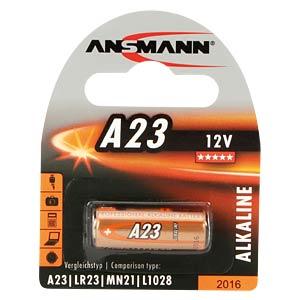 Alkaline Batterie, A23, 1er-Pack ANSMANN 5015182