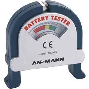 Batterietester für Rund- und Knopfzellen, analog ANSMANN 4000001