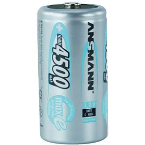ANSMANN maxE batteries, 2x BABY, 4500mAh ANSMANN 5035352