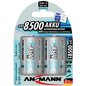ANSMANN maxe accu's, 2xMONO, 8500mAh ANSMANN 5035362