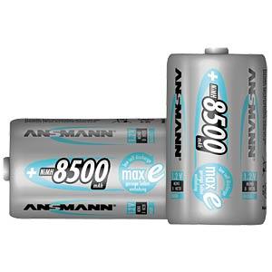 maxE, NiMh Akku, D (Mono), 8500 mAh, 2er-Pack ANSMANN 5035362
