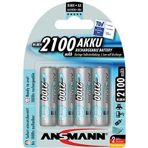 Accumulateur HR6/AA 1.2 V 2100 mAh UE=4 ST ANSMANN 5035052