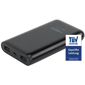 Powerbank, Li-Po, 10800 mAh, USB ANSMANN 1700-0067