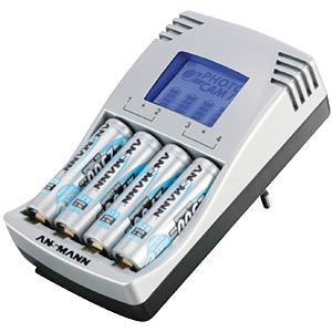Charger with LCD display ANSMANN 5307263