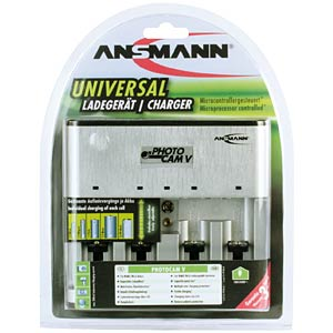 Microcontroller-controlled Photocam V charger ANSMANN 5207473