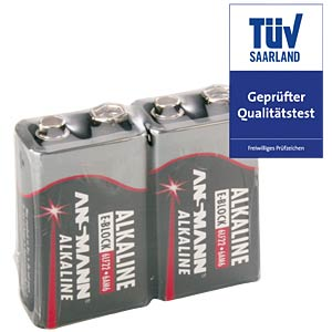 ANSMANN Red 9-Volt, 2er-Pack ANSMANN 5015591