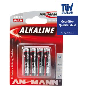 ANSMANN Red Micro, 4er-Pack ANSMANN 5015553