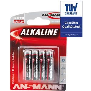 ANSMANN Red AAA, 4-pack ANSMANN 5015553