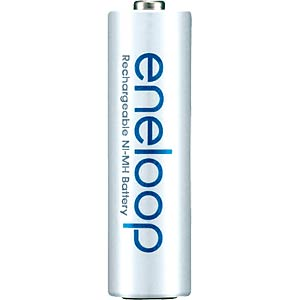 Panasonic eneloop rechargeable batteries, 4x Micro, 750 mAh, HR- PANASONIC HR-4UTGB