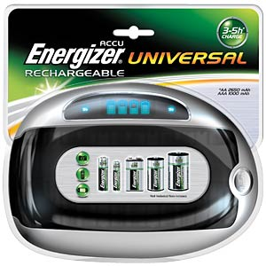 ENERGIZER universal charger ENERGIZER E300325500