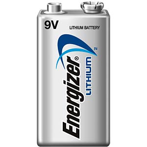 Energizer lithium battery, 1x 9-V block ENERGIZER 635236