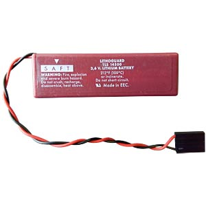 Lithium battery, 3.6 V, with connection cable FREI