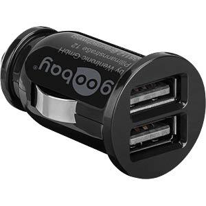 USB-Ladegerät, 5 V, 3100 mA, Kfz, 2 USB-Ports GOOBAY 58912