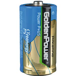 Pack of 2 Golden Power Baby/C batteries GOLDEN POWER GLR14ASP2