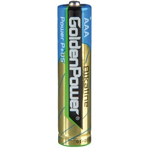 4er Pack Golden Power Micro, AAA Batterien GOLDEN POWER GLR03ASP4