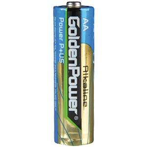 4er-Pack Golden Power Mignon, AA Batterien GOLDEN POWER GLR6ASP4