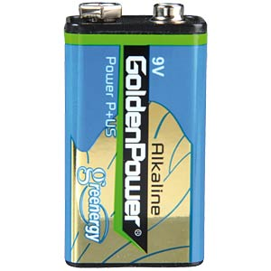 Alkaline Batterie, 9-V-Block, 1er-Pack GOLDEN POWER GL6F22ASP1