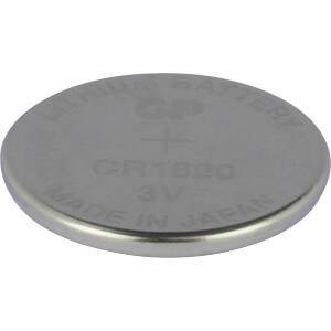Lithium-Knopfzelle, 3 V, 78 mAh, 16,0x2,0 mm GP-BATTERIES 0601620C1