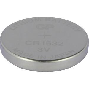 Lithium knoopcel, 3 V, 140 mAh, 16,0x3,2 mm GP-BATTERIES 0601632C1