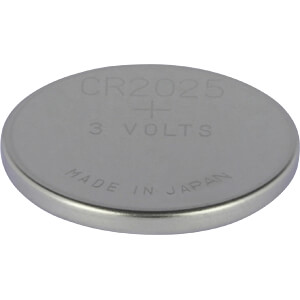 Lithium-Knopfzelle, 3 V, 160 mAh, 20,0x2,5 mm, 5er-Pack GP-BATTERIES 0602025C5