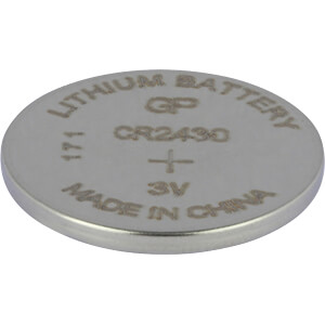 Lithium battery, 3 V, 300 mAh, 24,0x3,0 mm GP-BATTERIES 0602430C1