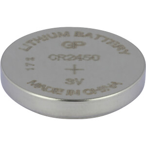 Lithium knoopcel, 3 V, 610 mAh, 24,0x5,0 mm GP-BATTERIES 0602450C1