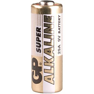 Alkaline battery, cylindrical, 9 V GP-BATTERIES 10.29AC1