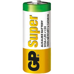 GP alkaline battery, LR1 GP-BATTERIES 910A        INKL.