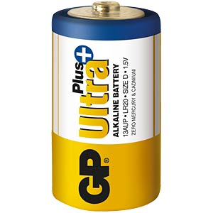 Ultra-Plus, Alkaline Batterie, D (Mono), 2er-Pack GP-BATTERIES 030.20AUP-U2