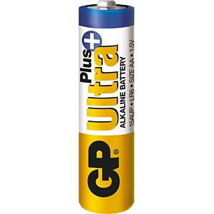 Pack of 4 GP-Ultra Plus, AA GP-BATTERIES GP15AUP-2U4