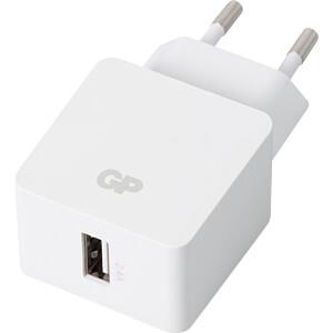 USB-Ladegerät WA23, 5 V, 2400 mA, inkl. 2 m Lightning-Kabel GP-BATTERIES 150GPWA23CB21C1
