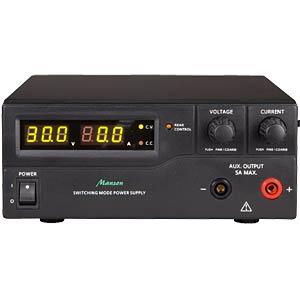 Programmierbares Labornetzgerät, 1-15V, 0-40A MANSON HCS-3400