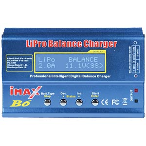 iMAX B6 multifunction battery charger, 50 W IMAX B6