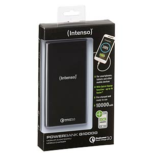 Powerbank, Li-Po, 10000 mAh, USB INTENSO 7334530