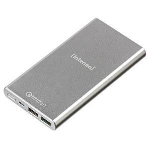 Powerbank Q10000, QC3.0, 10.000 mAh, zilver INTENSO 7334531