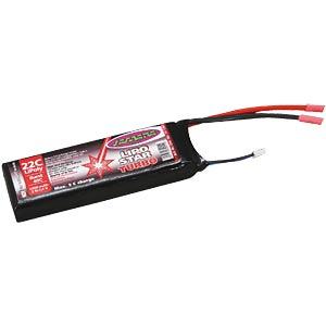 Akku-Pack, Li-Polymer, 11,1 V, 800 mAh, 25/50 C JAMARA 141364