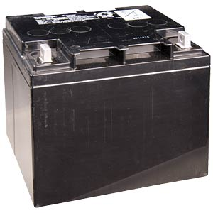 Cyclic lead-acid batteries, 12 V, 38 Ah PANASONIC