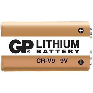 lithium 9 v gp gp lithium cell 9 volt block 800 mah at. Black Bedroom Furniture Sets. Home Design Ideas