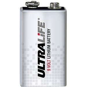 Lithium Batterie, 9-V-Block, 1200 mAh, 1er-Pack FREI