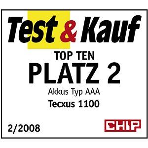 TECXUS Micro Akku, NiMh, 1100mAh, 4er-Pack TECXUS 14062