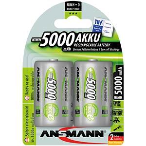 ANSMANN 2X5000mAh, NiMh, Mono D ANSMANN 5030922