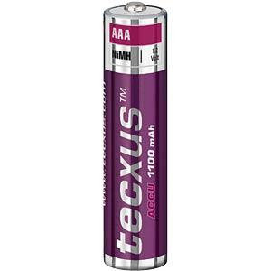 TECXUS Micro battery, NiMh, 1100mAh, 4-pack TECXUS 14062