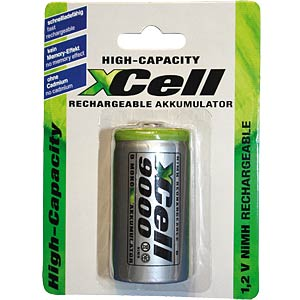 Xcell battery, Mono, D, 9000mAh XCELL 124152