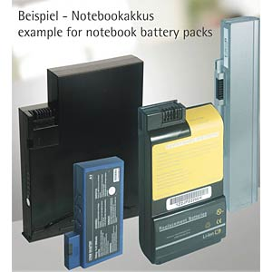 Notebook battery for Hewlett Packard / Compaq FREI